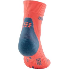 cep Short Socks 3.0 Uomo, arancione/blu